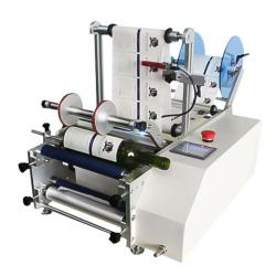 Semi-automatic round bottle labeling machine WPM-7160